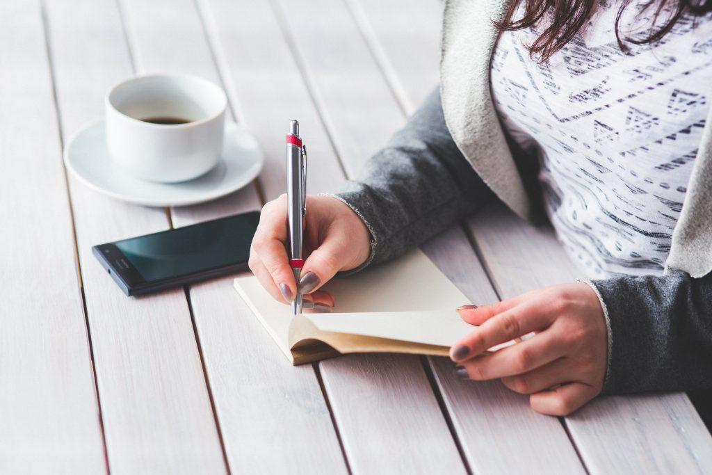 write business blog post